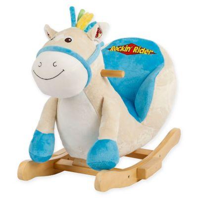 Rockin' Rider Tickles Baby Rocker in Blue