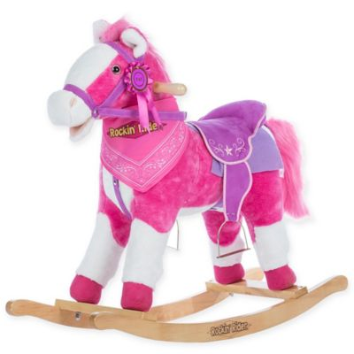 Horses in Pink
