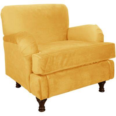 Skyline Furniture Sherman Kids Chair in Velvet Canary