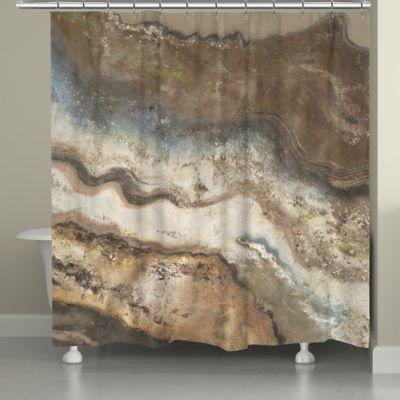 Laural Home® Lava Flow Shower Curtain