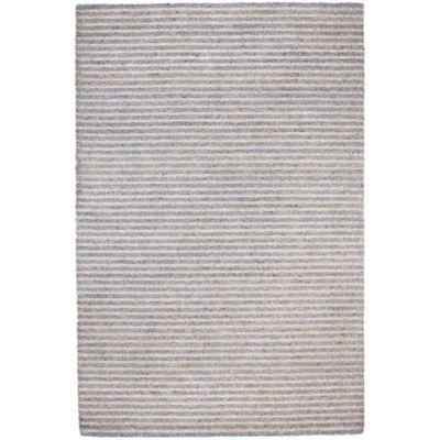Trans-Ocean 8-Foot 3-Inch x 11-Foot 6-Inch Stripes Indoor/Outdoor Rug in Grey