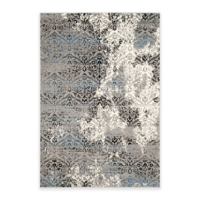 Safavieh Evoke Damask 5-Foot 1-Inch x 7-Foot 6-Inch Area Rug in Grey/Blue