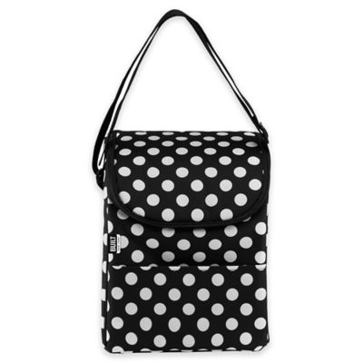 White Black Lunch Bag