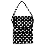 Built NY Polka Dot Lunch Bag in Black/White