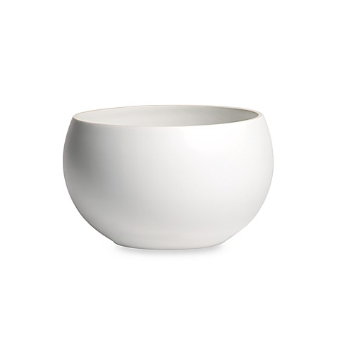 Vera Wang Naturals Chalk 6 1/2-Inch Bowl by Wedgwood