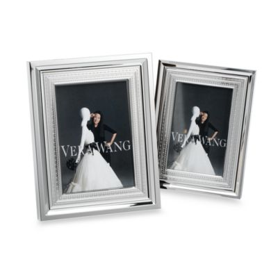 Vera Wang Wedgwood® 5-Inch x 7-Inch Silverplate With Love Frame