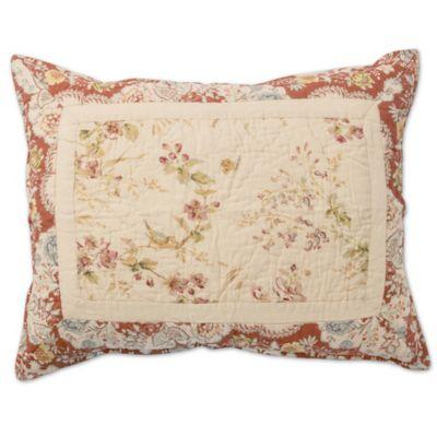 Gracie Standard Pillow Sham in Ivory