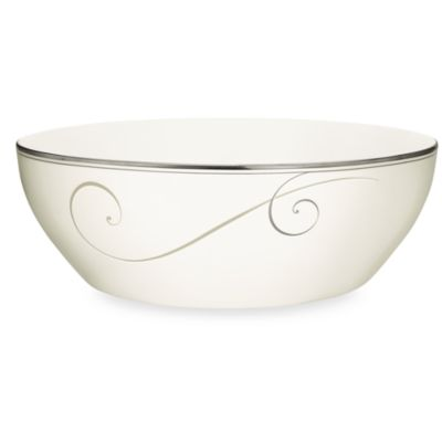 Noritake® Platinum Wave Round Vegetable Bowl