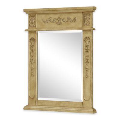 Venice Vanity Mirror in Antique Beige