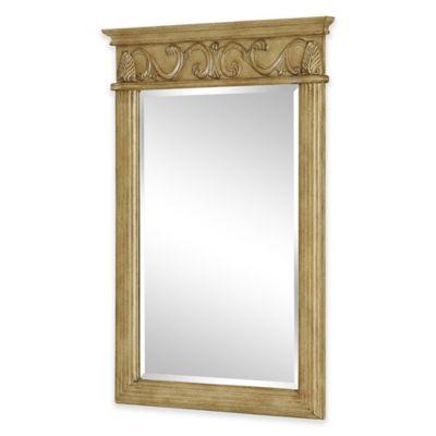 Isabella Vanity Mirror in Antique Beige