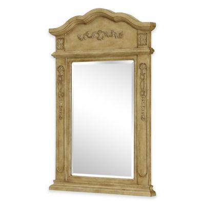 Palazzo Vanity Mirror in Antique Beige