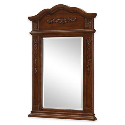 Palazzo Vanity Mirror in Brown