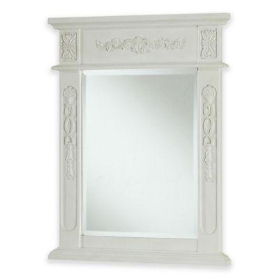 Venice Vanity Mirror in Antique White
