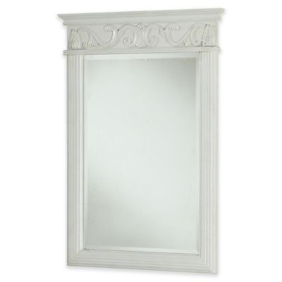 Isabella Vanity Mirror in Antique White