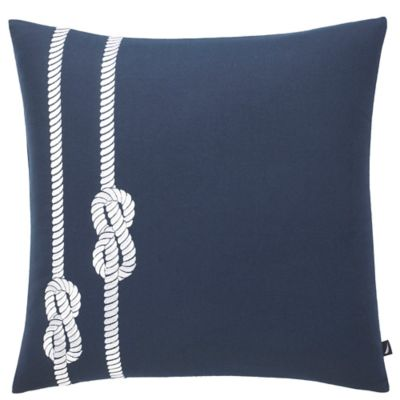 Nautica Blue Square Pillow