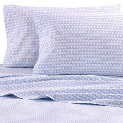 Nautica® Destin Twin Sheet Set in Light Blue