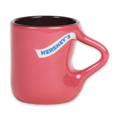 Hershey's by Fitz and Floyd® Hidden KISSES Handle Mug in Raspberry/Maroon