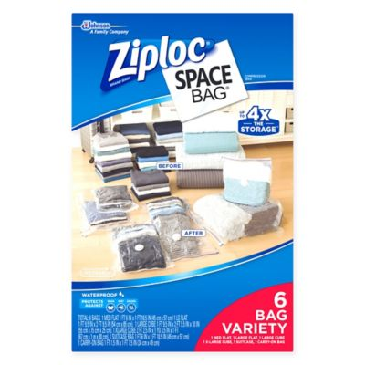 Ziploc® Space Bag® Starter Variety (Set of 6)