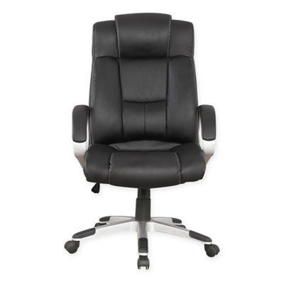 Manhattan Comfort Presidential Washington Office Chair in Black