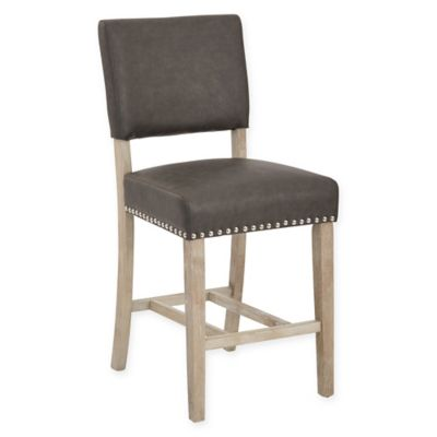 Office Star® Products Carson Stool in Pewter