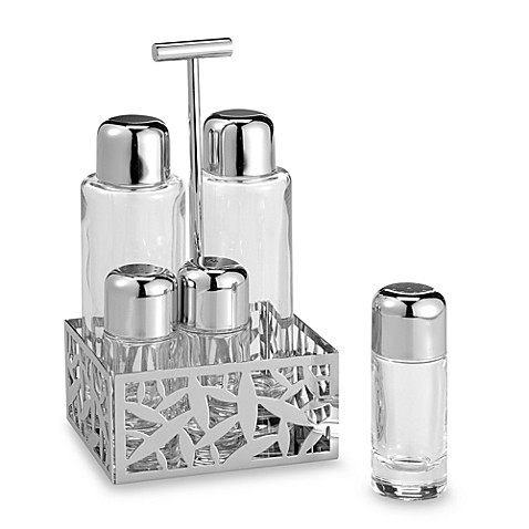 Alessi Cactus Condiment Set