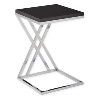 Office Star® Products Wall Street Multipurpose Side Table in Black