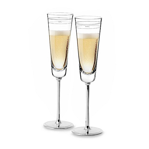 kate spade new york Darling Point Toasting Flutes (Set of 2)