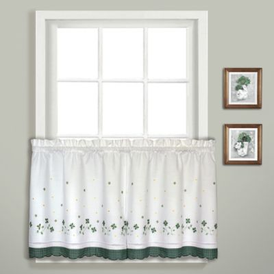 36-Inch Window Curtain Tiers