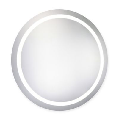 30-Inch Round LED Electric Mirror
