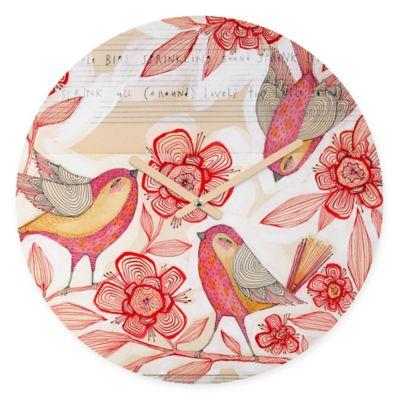 DENY Designs Cori Dantini Sprinkling Sound Round Wall Clock
