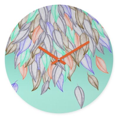 DENY Designs Jacqueline Maldonado A Different Nature 1 Round Wall Clock