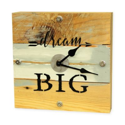 Sweet Bird & Co Dream Big Clock