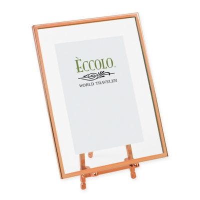 Eccolo® 4-Inch x 6-Inch Copper-Framed Floating Easel