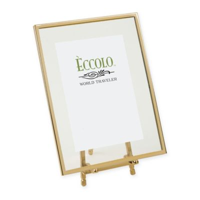 Eccolo® 4-Inch x 6-Inch Gold-Framed Floating Easel
