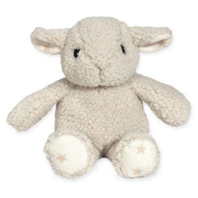 cloud b® Hugginz Sheep Plush Rattle in Cream