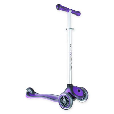 Globber Scooters 3-Wheel Adjustable Scooter in Purple