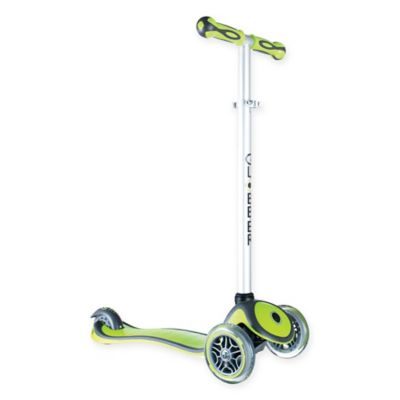 Globber Scooters 3-Wheel Adjustable Scooter in Green