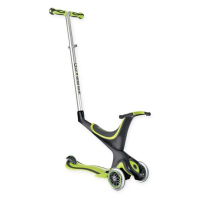 Globber Scooters 3-Wheel 5-in-1 Scooter in Green