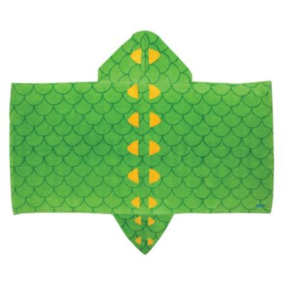 Stephen Joseph Alligator Hooded Towel in Green
