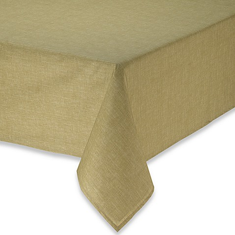 tuscan texture 70 laminated fabric round tablecloth bed bath beyond. Black Bedroom Furniture Sets. Home Design Ideas