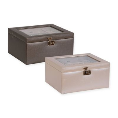 Pewter Jewelry Boxes