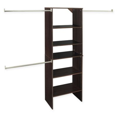 ClosetMaid® SuiteSymphony™ 25-Inch Tower Starter Kit in Espresso