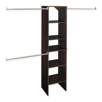 ClosetMaid® SuiteSymphony™ 16-Inch Tower Starter Kit in Espresso