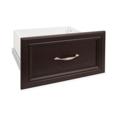 ClosetMaid® SuiteSymphony™ 16-Inch x 10-Inch Drawer in Espresso