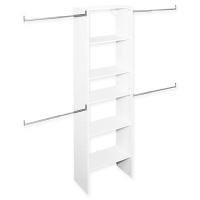 ClosetMaid® SuiteSymphony™ 25-Inch Tower Starter Kit in Pure White