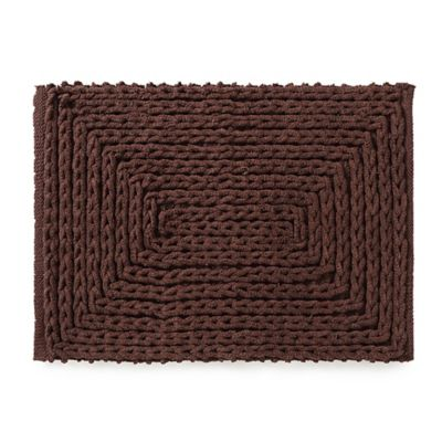 Buy Chocolate Brown Bathroom Rugs From Bed Bath Amp Beyond