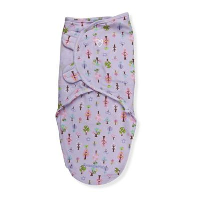 Summer Infant® SwaddleMe® Small/Medium Original Swaddle Sweet Trees Swaddle in Purple