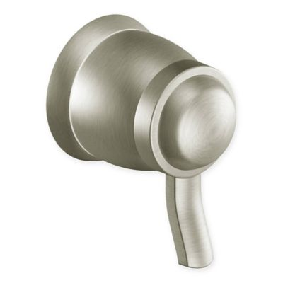 Moen® Rothbury Single Handle Volume Control in Brushed Nickel