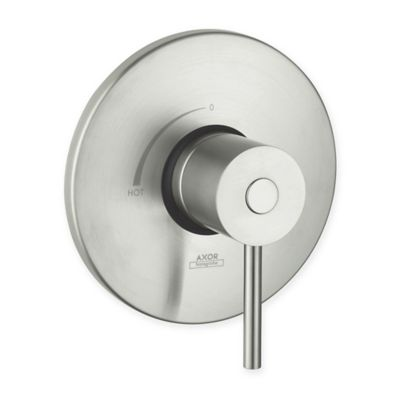 Axor Uno Pressure Balance Trim in Brushed Nickel