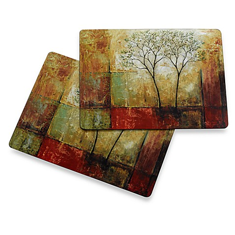 Avanti Morning Luster Cork Back Placemats (Set of 2)